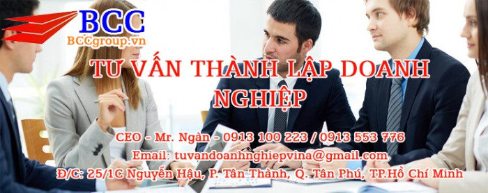 thanh lap cong ty, dich vu thanh lap cong ty